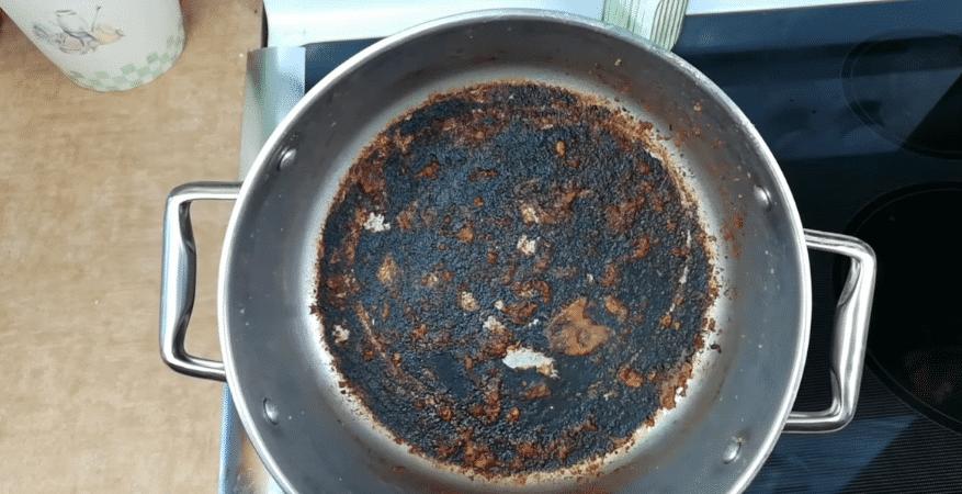 casserole brûlée